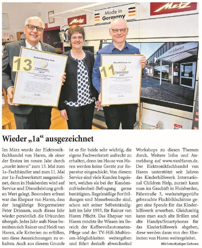Niederrhein Nachrichten 04.Mai.2019