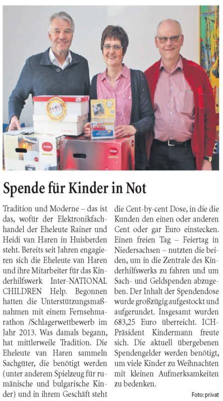 Niederrhein-Nachrichten 17.November.2018